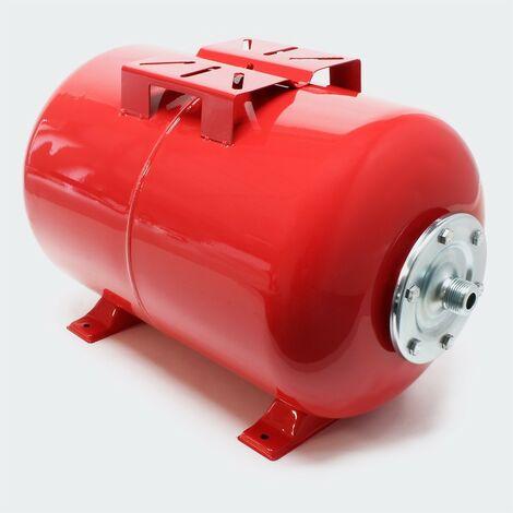 Ballon ou cuve à vessie pour installations sanitaires : 50 litres - Rouge