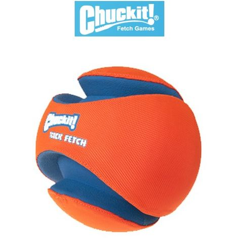 "main image of ""Ballon pour chien : Kick fetch Chuckit Désignation : Ballon Kick Fetch   Taille : 21 cm Chuckit 740001"""