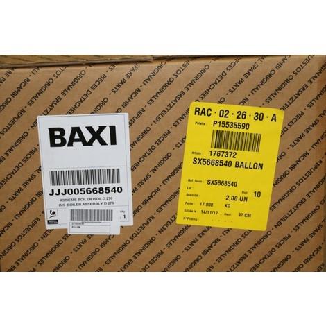 Ballon sx5668540 PCE DET CHAPPEE/BROTJE/IS CHAUFF