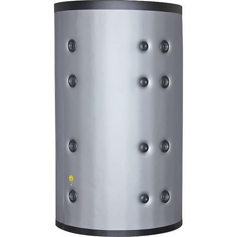 Ballon-tampon 2500l avec isolation gris argenté