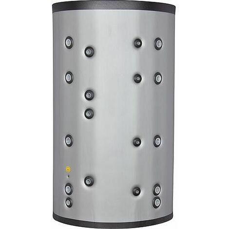 ballon tampon combiné PC1000/200 inox, 2 echangeurs de chaleur 931 L