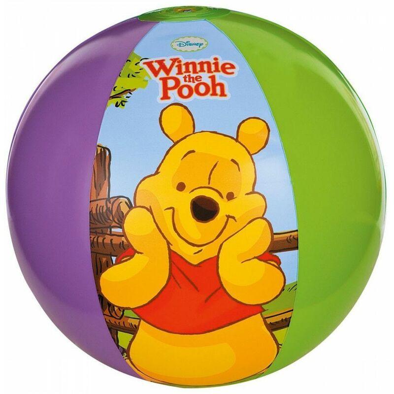 Ballon gonflable Winnie l'ourson - Intex - Jeu d'eau pour enfant - Livraison gratuite