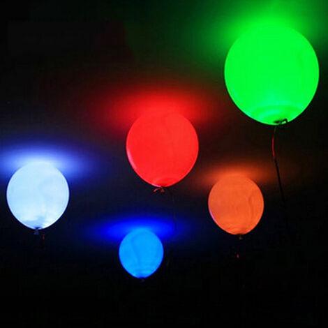 Ballons Lumineux Led, Ballons Clignotants, Ballons Lumineux, 5 Pcs