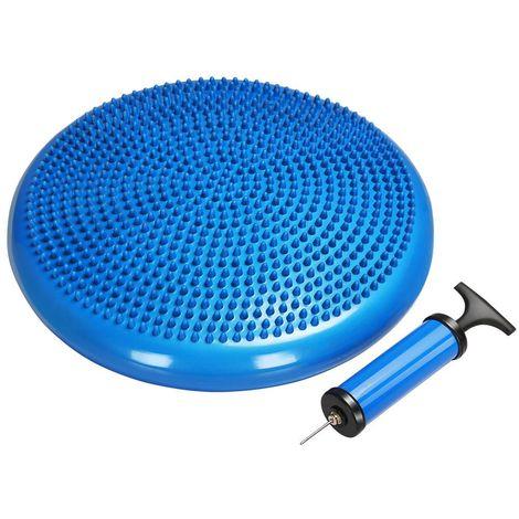 Ballsitzkissen Sitzkissen Balance Kissen mit Pumpe Blau