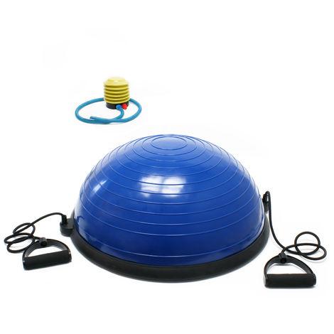 Balón gimnasia Balance Trainer Ø58cm Media pelota Equilibrio Estiramientos Yoga Fitness Fisioterapia