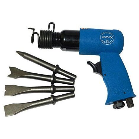 bamax at0061Marteau pneumatique burineur semi-professionnelle, bleu