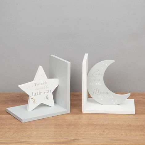 Bambino Bookends - Love You to the Moon...Twinkle Twinkle...