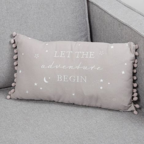 Bambino Linen Cushion Little Star