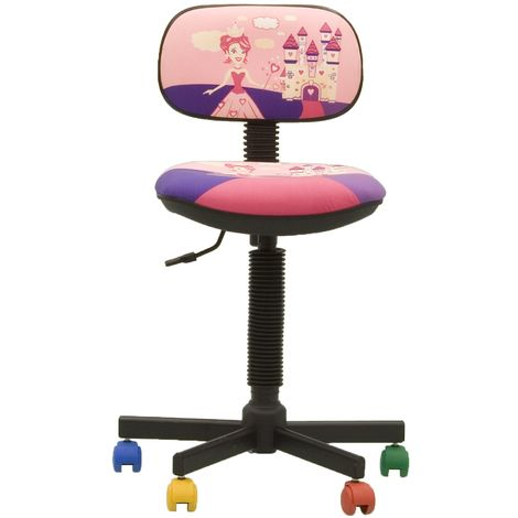 Chaise de bureau rose à prix mini