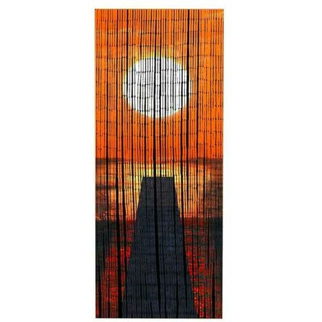 Bamboo curtain Sunset WENKO