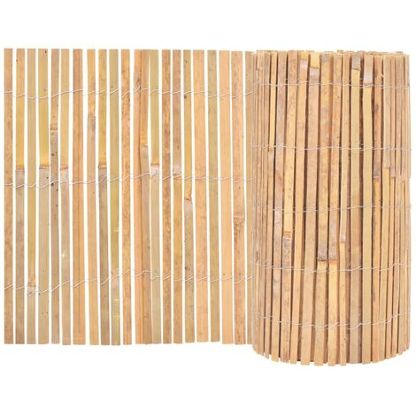 Bamboo Fence 1000x50 cm - Brown