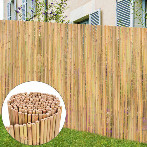 Bamboo Fence 250x170 cm - Brown