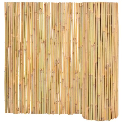 Bamboo Fence 300x100 cm - Brown