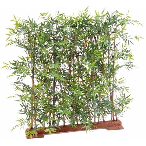Bambou artificiel JAPANESE PLAST HAIE DENSE UV (110 cm) Haut de Gamme Bambou EXTÉRIEUR / INTÉRIEUR Arbres artificiels - VERT