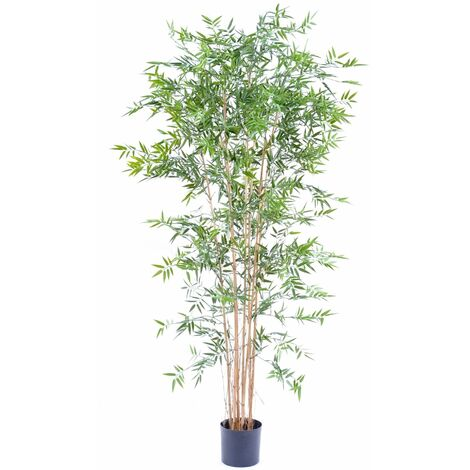 Bambou artificiel JAPANESE PLAST UV (210 cm) Haut de Gamme Bambou EXTÉRIEUR / INTÉRIEUR Arbres artificiels - VERT