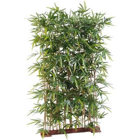Bambou artificiel NEW HAIE (150 cm) Haut de Gamme Bambou ZEN Arbres artificiels - VERT