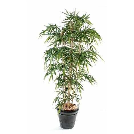 Bambou artificiel NEW UV RESISTANT (120 cm) Haut de Gamme Bambou EXTÉRIEUR / INTÉRIEUR Arbres artificiels - VERT