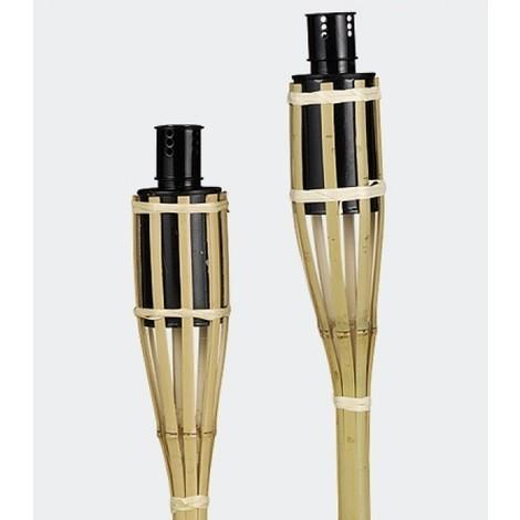 Fackel Gartenfackel 90cm 3 Stück Bambus