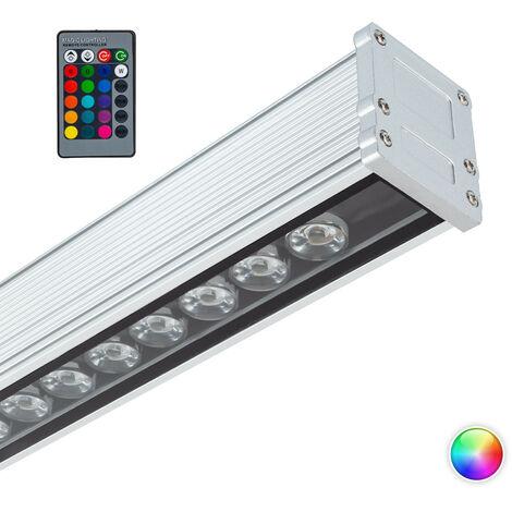 "main image of ""Bañador de Pared LED RGB 18W IP65 500mm RGB - RGB"""