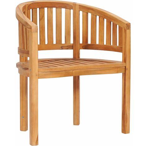 Banana Chair Solid Teak Wood