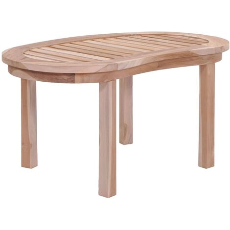 Banana-shaped Coffee Table Solid Teak