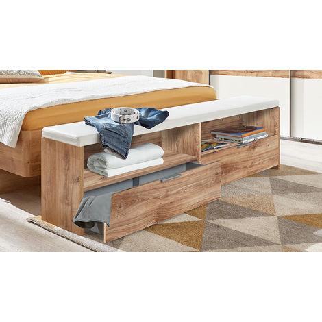 banc bout de lit. Black Bedroom Furniture Sets. Home Design Ideas