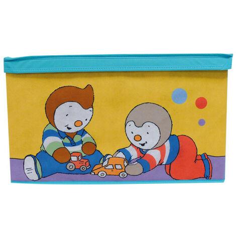 Banc & coffre à jouets T'Choupi & Pilou