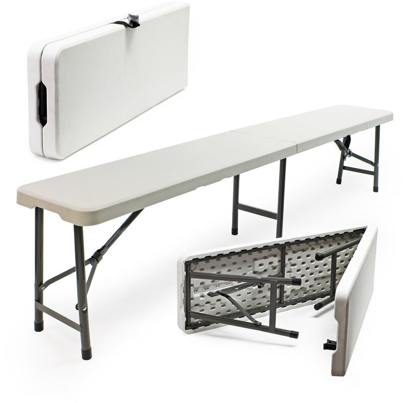 Banc De Camping Pliante Table Portable Pliable Légère Extérieur Bbq