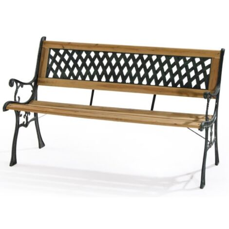 Banc de jardin en plein air Acacia Wood 3 places | Bois