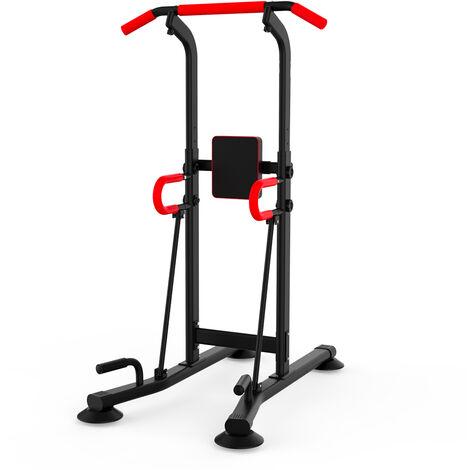 "main image of ""Banc de musculation et fitness multifonction Power Tower Callisthenics Home Gym Bulldozer"""