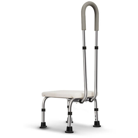 Banch Adjustable Bath Chair Shower Seat Disability Aid Chair Chair Stool Bench Mohoo