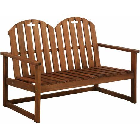 Banco de jardín 110 cm madera de acacia maciza
