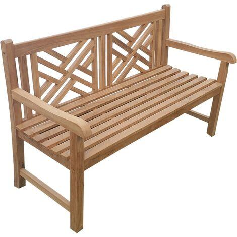 Banco de jardín ENDIA 150 cm Teca Premium