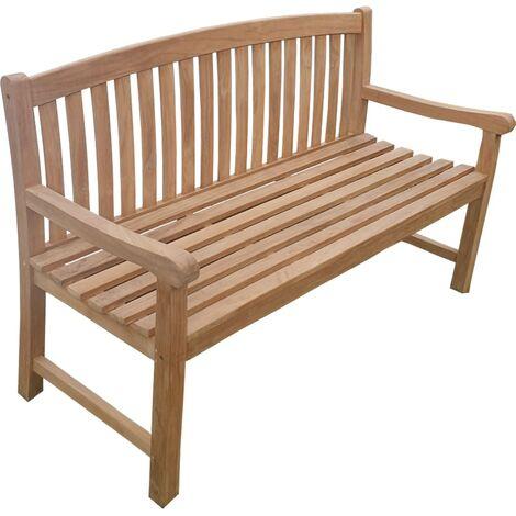 Banco de jardín YERA 150 cm Teca Premium
