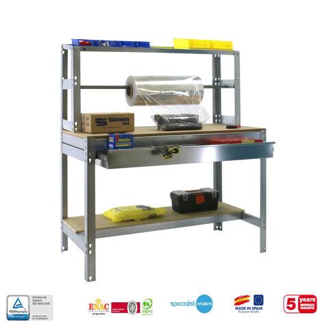 BANCO DE TRABAJO SIMONWORK MOBILE BT4 BOX 1200 GALVA/MADERA