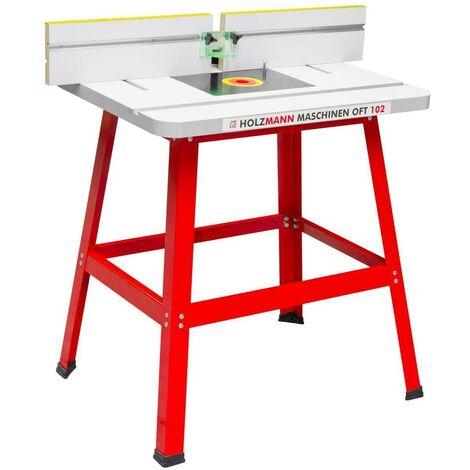 Banco fresa per fresatrice tavolo fresatura legno holzmann for Banco fresa legno