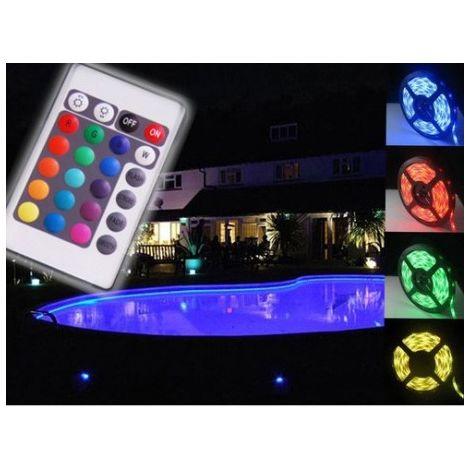 Band 5 m RGB LED IP68 wasserdicht mit Infrarot-Fernbedienung 1