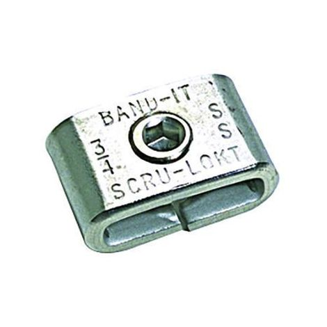 Band-It Buckles & Clips Stainless steel Scru-Lokt buckle