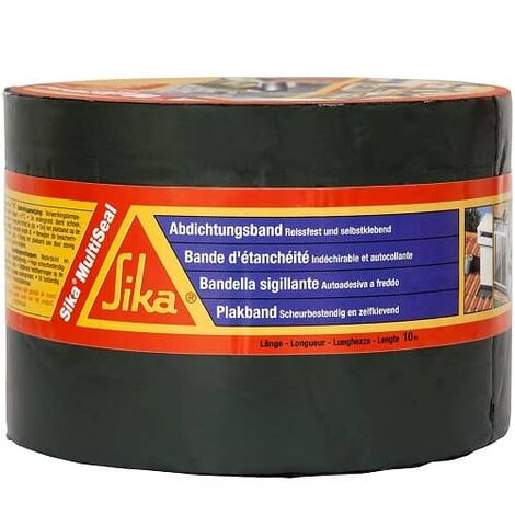 Banda autoadhesiva de butilo Sika Multiseal BT 100 mm Ancho 10 Metros