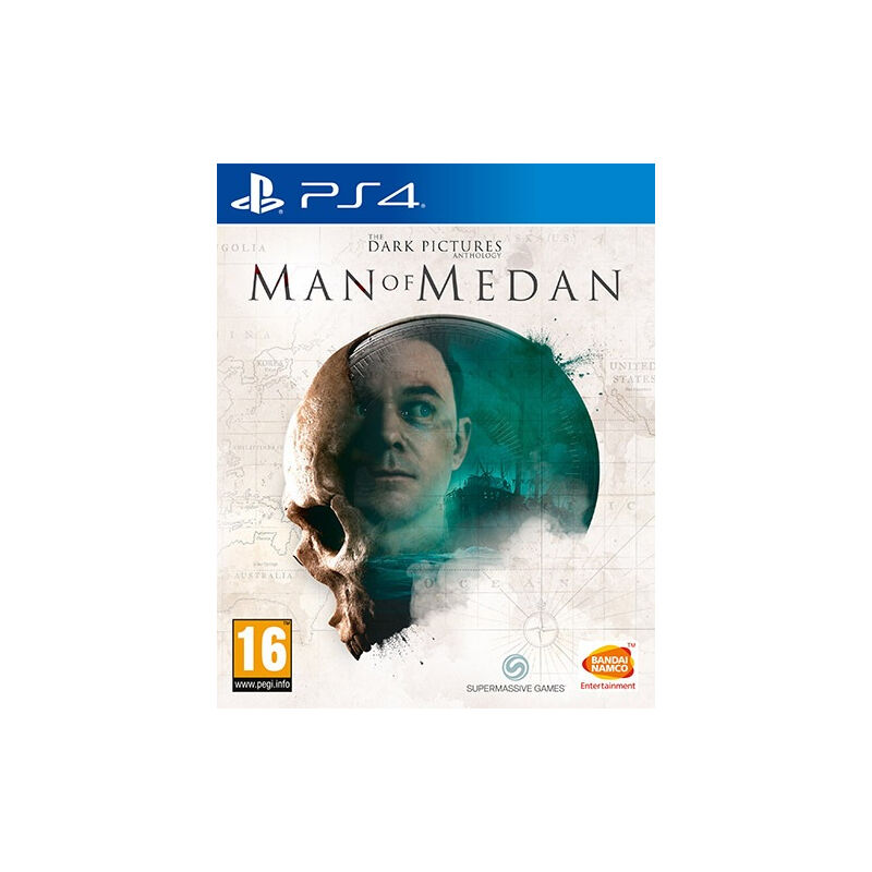 Image of Entertainment The Dark Pictures Anthology: Man of Medan, PS4 PlayStation 4 Basic Inglese - Bandai Namco