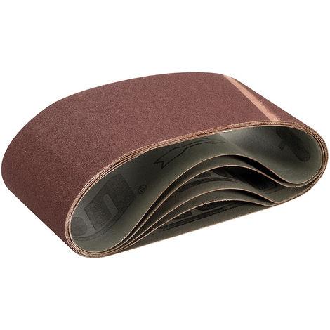 Bandas de lija 100 x 560 mm, 5 pzas Grano 100 - NEOFERR