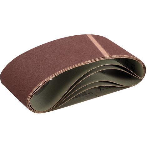 Bandas de lija 100 x 560 mm, 5 pzas Grano 120 - NEOFERR