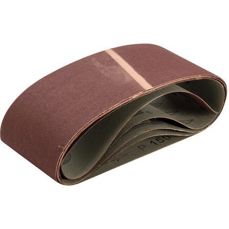 Bandas de lija 100 x 560 mm, 5 pzas Grano 150 - NEOFERR