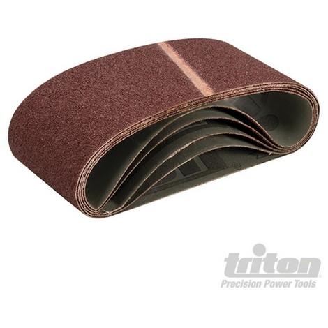 Bandas de lija 100 x 560 mm. 5 pzas (Grano 40)