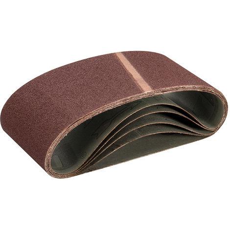 Bandas de lija 100 x 560 mm, 5 pzas Grano 60 - NEOFERR