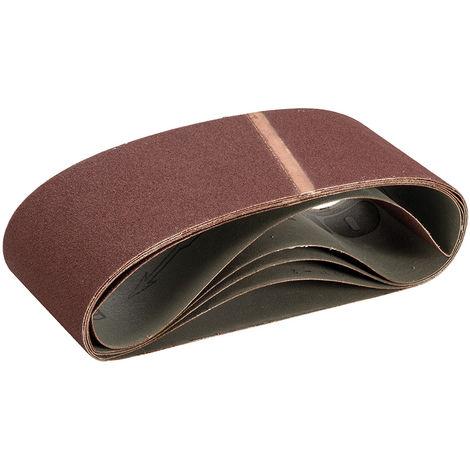 Bandas de lija 100 x 610 mm, 5 pzas Grano 100 - NEOFERR