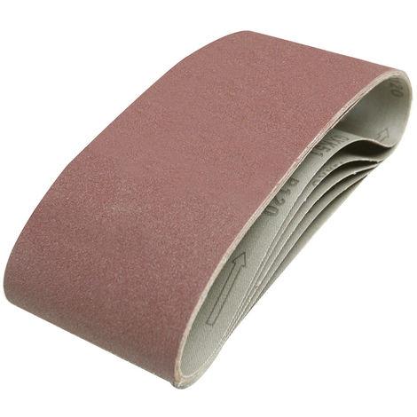 Bandas de lija 100 x 610 mm, 5 pzas Grano 120 - NEOFERR