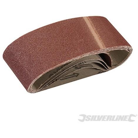 Bandas de lija 60 x 400 mm 5 piezas-Grano 40