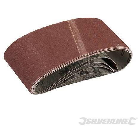 Bandas de lija 65 x 410 mm. 5 pzas (Grano 40)