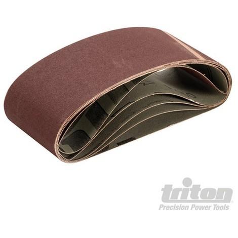 Bandas de lija 75 x 457 mm. 5 pzas (Grano 150)